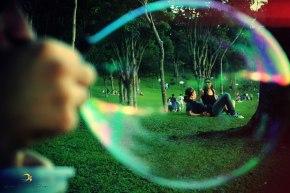 bolha de sabão/parque são lourenço/curitiba/pr/brasil/2011/semterritorio