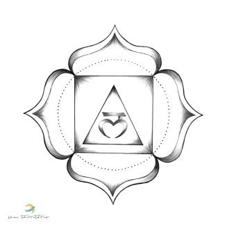 ilustração para livro de Tales Nunes: Chakras/ nanquim em papel vegetal/ 21x30cm/ originais disponíveis/ sem territorio