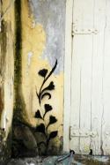 detalhe do muro estúdio de música kalundú - são paulo - 2012