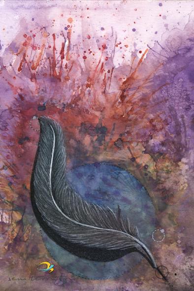 pena/ nanquim, aquarela, maquiagem e caneta posca em papel canson 300gm/ 21x30cm/ original indisponível/ semterritorio