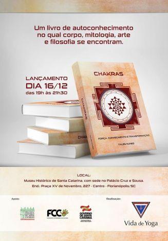Livro Chakras - Tales Nunes