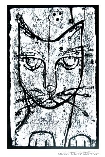 xilo/nanquim em papel sulfite 180gm/ 20x30cm/original indisponível/semterritorio