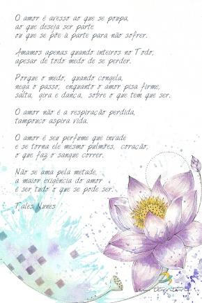 Ilustração para poema de Tales Nunes