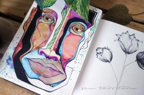mascara-colorida